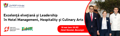 Excelenta elvetiana si leadership in Hotel Management, Hospitality si Culinary Arts