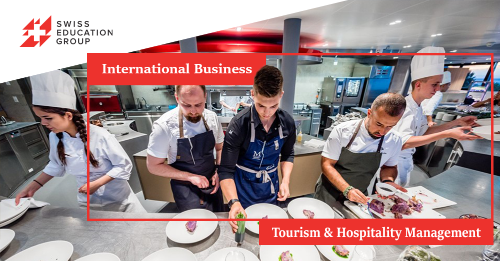 Vezi cum poti sa studiezi Tourism & Hospitality Management sau International Business in Elvetia!